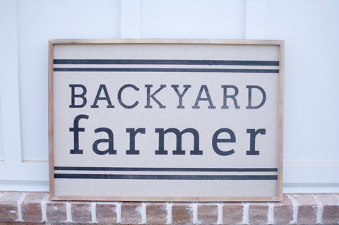Backyard Farmer