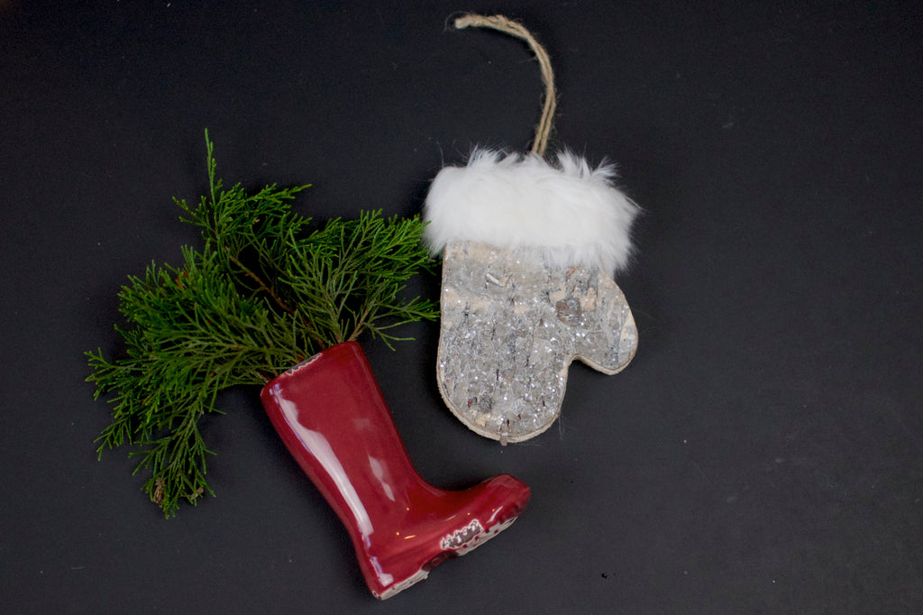Birch Mitten Ornament