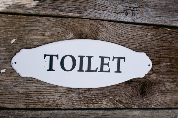 """Toilet"" Sign"