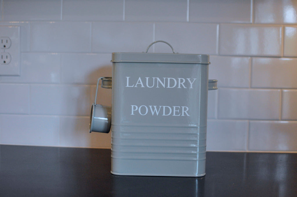 Laundry Powder Canister