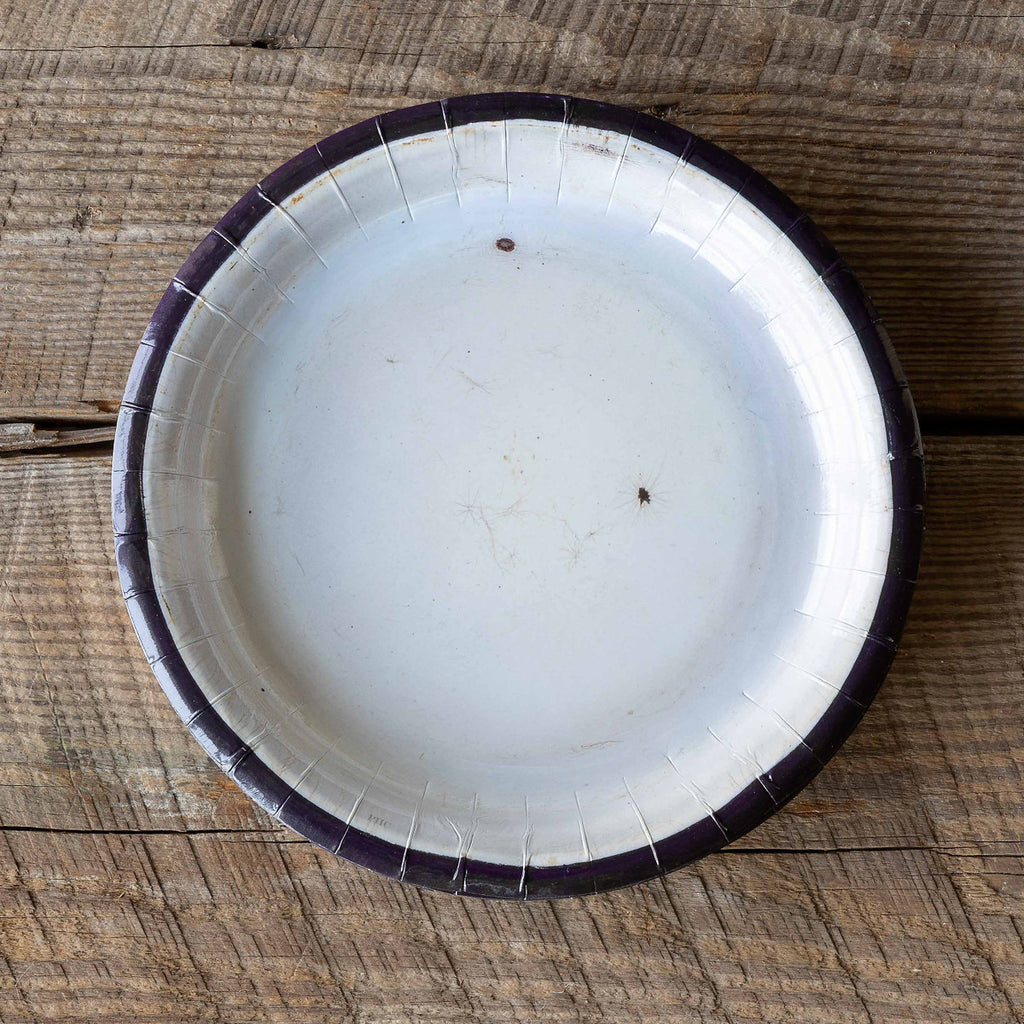 Old Enamelware Paper Plates