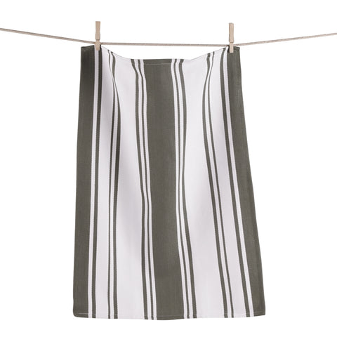 Gray and White Dish Towel