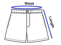 How to measure the Shorts