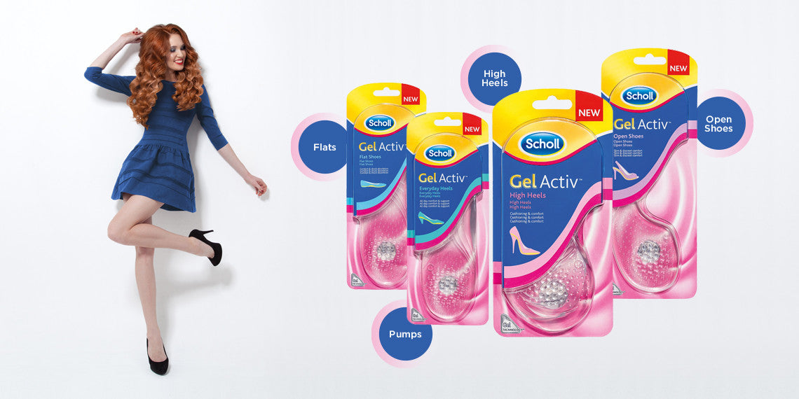 Gelactiv Insoles – fits all your favourite shoes