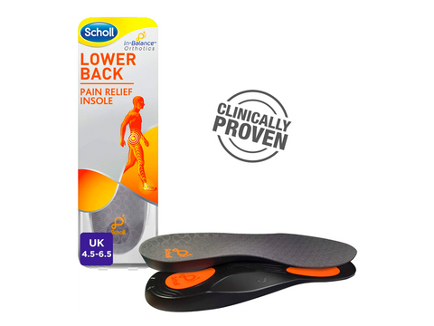 LOWER-BACK-PAIN-RELIEF-FULL LENGTH-INSOLES-SMALL-4.5-6.5