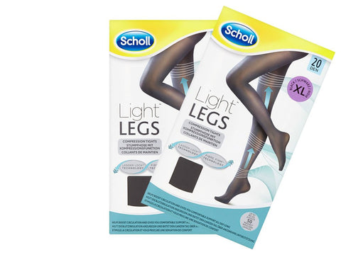 Light Legs Tights Black 20 Den Extra Large