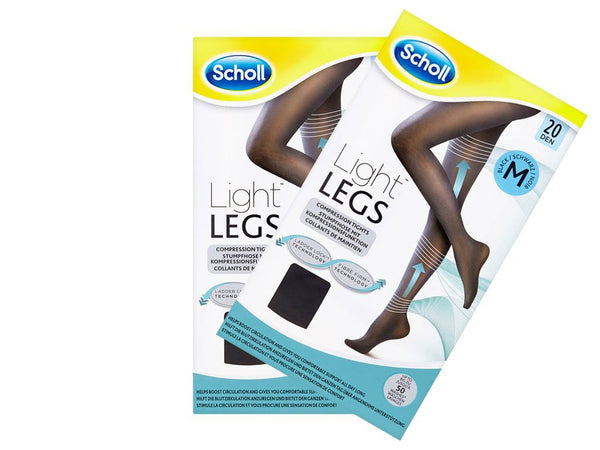 Light Legs Tights Black 20 Den Medium