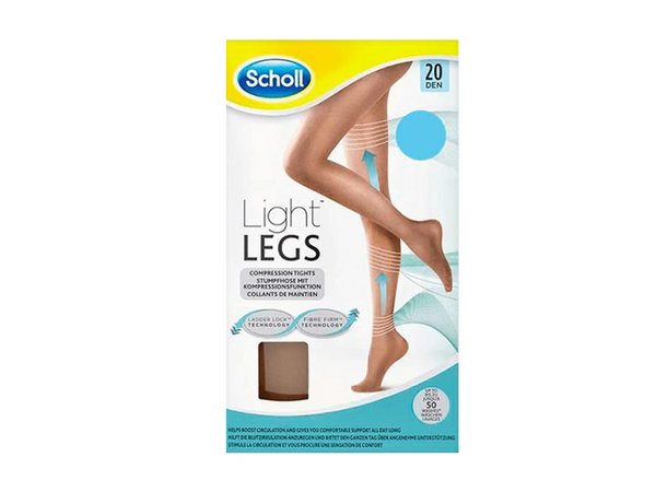 Light Legs Tights Tan 20 Den Extra Large