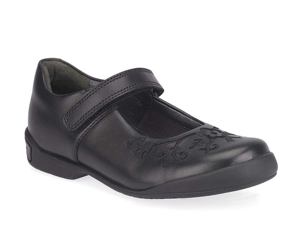 HOPSCOTCH BLACK LEATHER