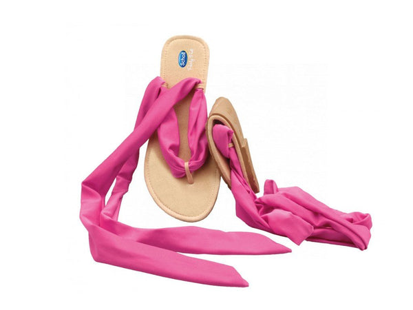 pocket ballerina Sandals black/fushia