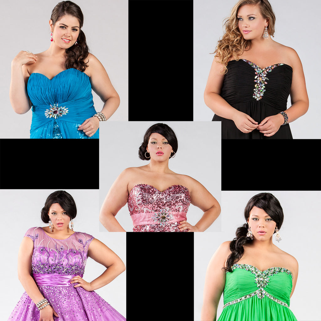 Five Fab Plus Size Frocks that Rock for Prom 2014