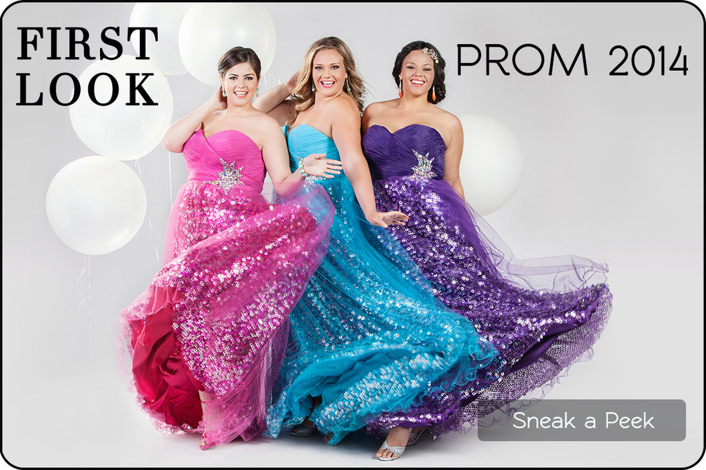 First Look: Trendy Prom 2014 Plus Size Dresses