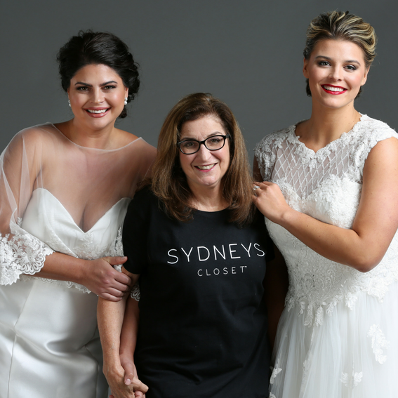 Behind-the-Scenes 2018 Plus-Size Bridal Photo Shoot