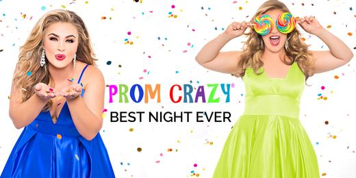Go Prom Crazy with Sydney's Closet plus size prom gowns SC7270