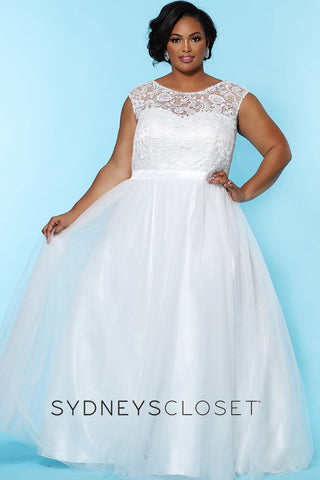 Princess Silhouette Plus Size Sydney's Closet Gowns