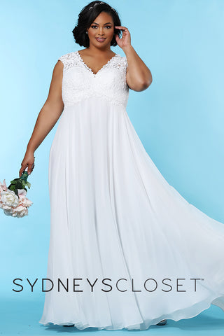 Empire Plus Size Formal Prom or Bridal Dress Sydney's Closet