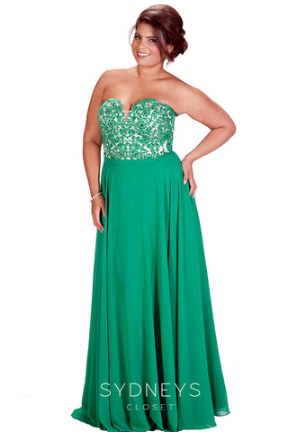 1138211efec82 Fit and Flatter Tips Plus Size Special Occasion Dresses Sydney s Closet