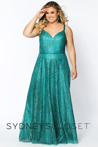 A-line Plus Size Formal Prom Dress Sydney's Closet