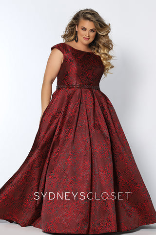 Ball Gown Plus Size Formal Prom Dress Sydney's Closet