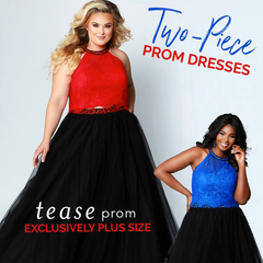 tease prom two-piece