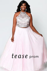 Tease Prom TE1943 in Doll Pink