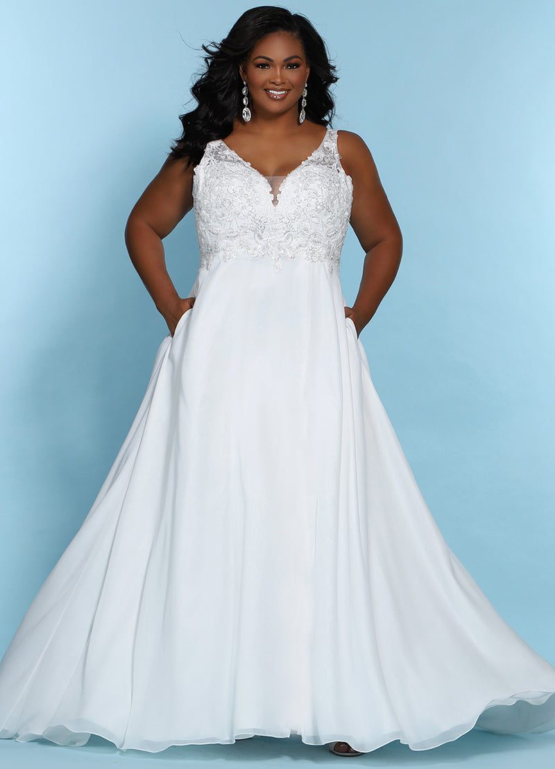 Guide to Finding Flattering Plus Size Wedding Dresses – Sydney's ...