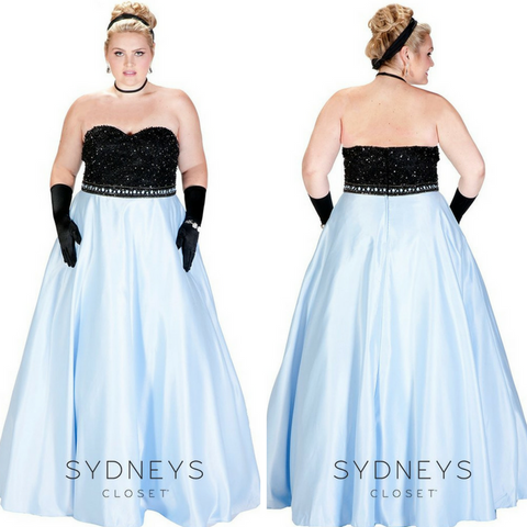 princess plus size dress