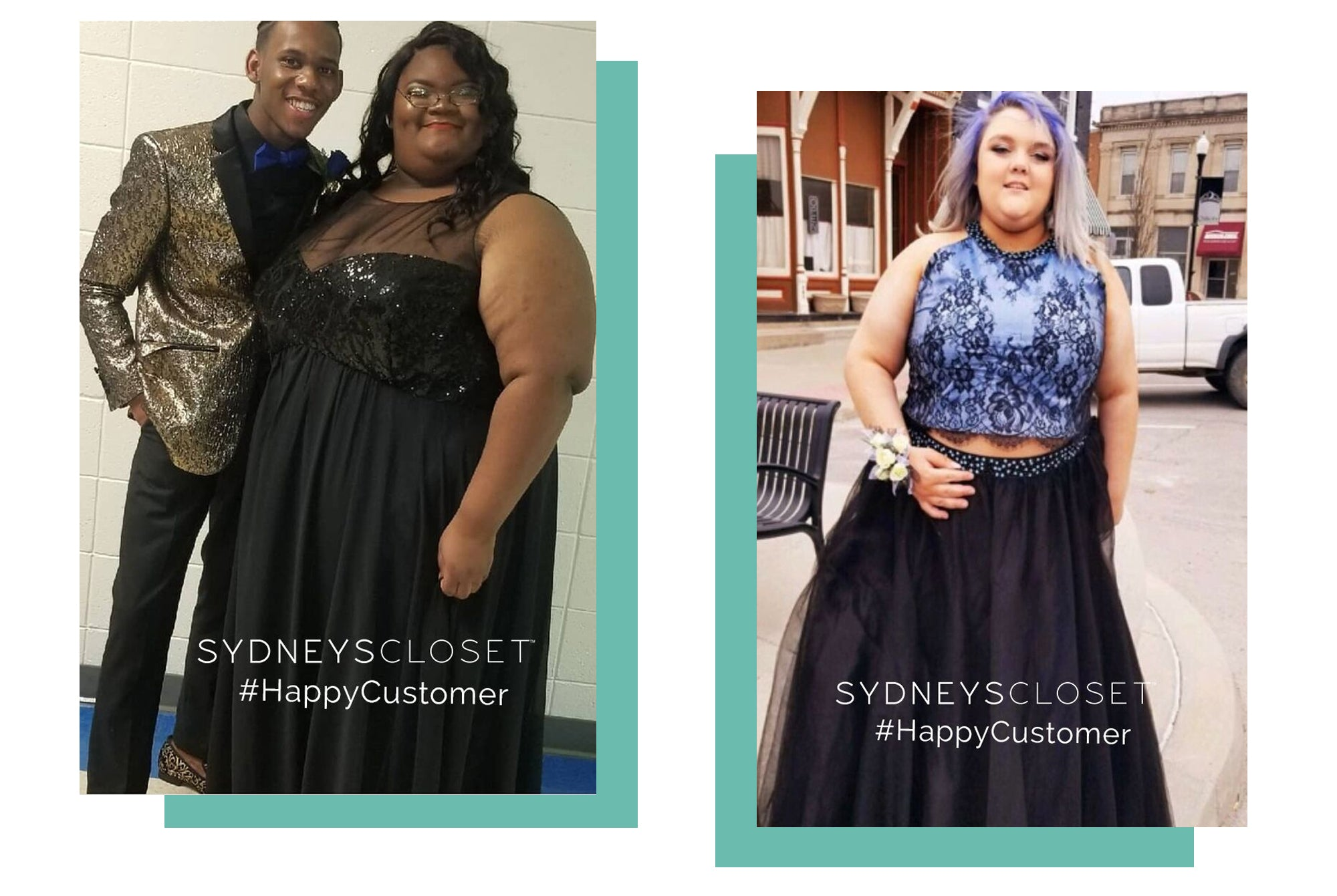 7d83041fcfcab We love hearing from happy plus-size women and teens who shop with us for  their special occasion. Below you ll find happy customers who loved the plus -size ...