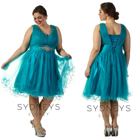 homecoming dress in plus size
