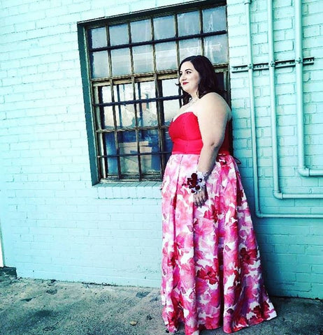 700514515 Another popular trend this year is beautiful bohemian floral print! Our  'Flower Power Long Formal Dress' makes the perfect plus-size wedding guest  dress, ...