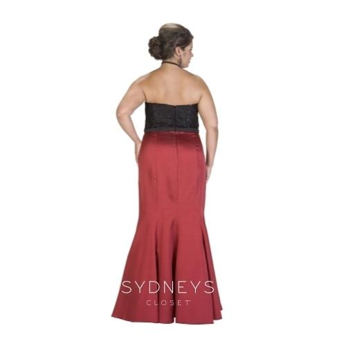 Plus Size Great Impressions Formal Dress Sample, [product_color] - Sydney's Closet
