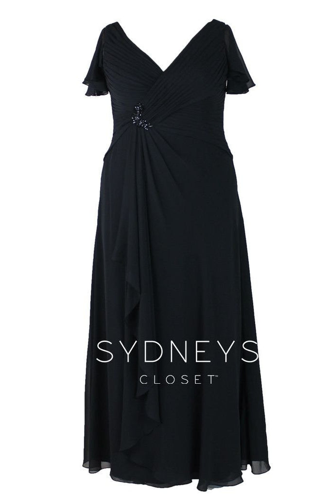 Plus Size Sample Dress, [product_color] - Sydney's Closet