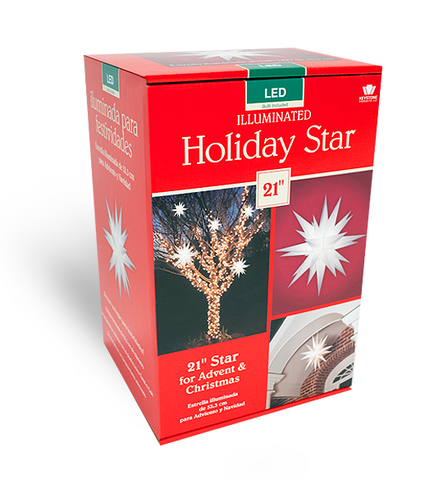 "21"" Holiday Illuminating Star"