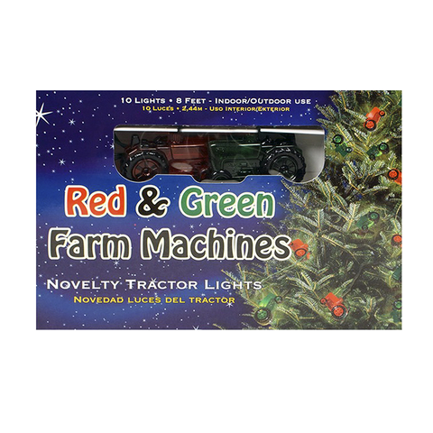 Red & Green Farm Machines