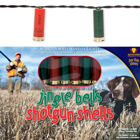 Jingle Bell Shotgun Shells 10