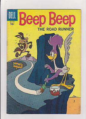 Four Color  #918     Midgrade-    1958    1st App.  Road Runner  Fine/6.0 - ComicBookKeys