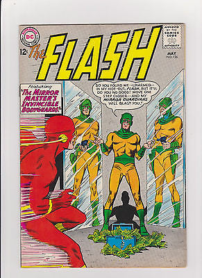 Flash    #136   Complete/Attached/No Restoration   1st Dexter Miles  Midgrade- - ComicBookKeys