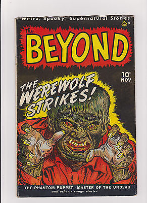 The Beyond     #1     Midgrade to lower  with exception    1950 - ComicBookKeys