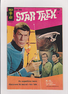 Star  Trek    #1   5.5/Fine-     Gold Key - ComicBookKeys
