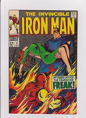 Iron Man   #3     High Grade - ComicBookKeys