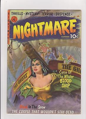 Nightmare #1 Complete/Attached/No Restoration  HighGrade- - ComicBookKeys