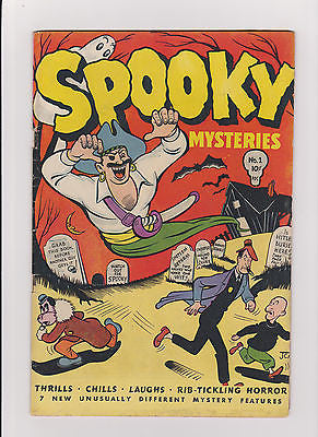 Spooky Mysteries    #1      Midgrade to lower - ComicBookKeys