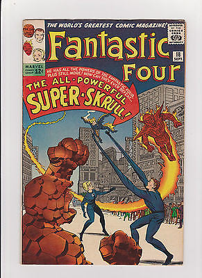Fantastic Four     #18    1st  App. Super Skrull    HighGrade- - ComicBookKeys