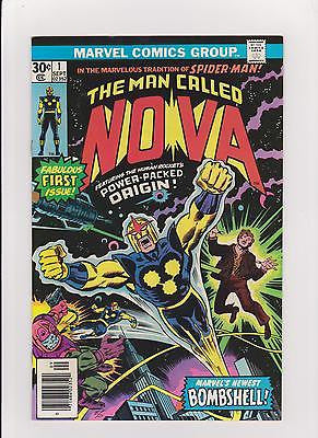 Nova  #1 Complete/Attached/No Restoration  High Grade - ComicBookKeys