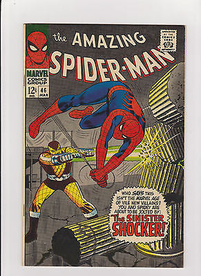 The Amazing Spider-man    #46   1st Appearance Shocker   F/VF-7.0 - ComicBookKeys