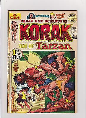 Korak Son of Tarzan #46 Complete/Attached/No Restoration MidGrade++ - ComicBookKeys