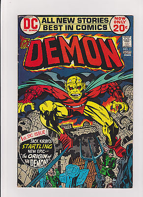 Demon      #1    Midgrade - ComicBookKeys