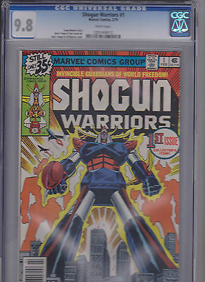 "Shogun Warriors  #1   CGC  9.8   ""White"" - ComicBookKeys"