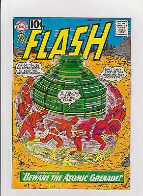 Flash    #122  Complete/Attached/No Restoration  1st App The Top  MidGrade++ - ComicBookKeys