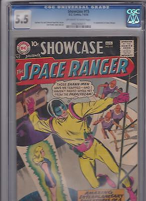 Showcase comics  #15   CGC   5.5     Ow-W - ComicBookKeys